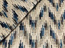 Baker Lifestyle Lee Jofa Velvet Fabric- Carnival Chevron / Indigo 7 yd PF50426.2