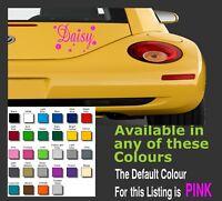 1 x Daisy Flower decals / sticker for car, Caravan, Windows Etc...