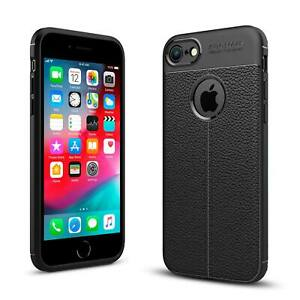 For Apple iPhone Luxury Shockproof Leather Pattern Soft TPU Protective Case