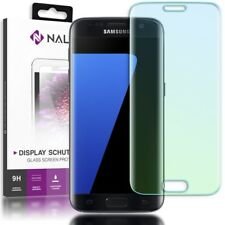 NALIA Schutzglas für Samsung Galaxy S7 Edge, 9H Panzerfolie Full Cover Display