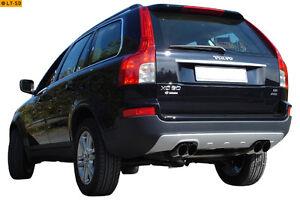 FOX Scarico-sport Duplex Volvo XC90 ogni 2x76