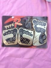 Type-R. Non-Slip Car Pedal. Red