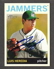 2013 HERITAGE #5  Luis Heredia  PITTSBURGH PIRATES  SIGNED AUTOGRAPH AUTO COA