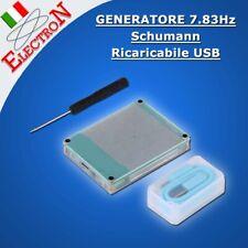 Generatore ONDA Schumann 7.83HZ a BATTERIA Ricaricabile via USB Resonance wave
