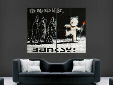 Banksy Graffiti Street Art il Mild Mild Mild West gigante poster art print Grande