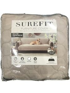 Surefit Sofa Slipcover Taupe