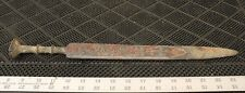 Ancient Eastern Chinese Zhou Dynasty Sword, 5th-3rd Century BCE, Inlain Pattern