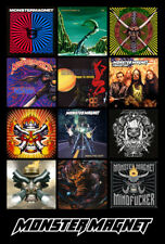 """MONSTER MAGNET album discography magnet (4.5"""" x 3.5"""") stoner rock mindfucker"""
