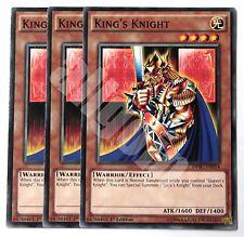 DPBC-EN014 x3 KING'S KNIGHT (CAVALIERE DEL RE) Common Yugioh