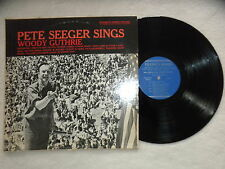 "LP PETE SEEGER ""sings Woody Guthrie"" FOLKWAYS RECORDS FTS 31002 USA §"
