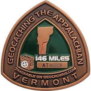 Appalachian Trail 2008 Geocoin - Vermont, Activated