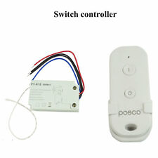 Wireless Remote Switch Control for Fluorescent Lamp Halogen Lamp LED Pool Light