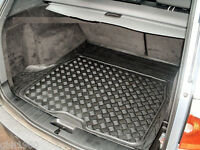 3pc modular rubber boot liner load mat bumper protector BMW X3 E83 2004-11