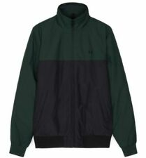 FRED PERRY PANELLED QUILTED BRENTHAM JACKET,J4518,DARK EMERALD