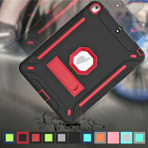 Heavy Duty Tough Armor Drop Protection Hard Stand Case Cover For iPad Air 1 2 3