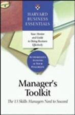 Manager's Toolkit: The 13 Skills Managers Need to Succeed (Harvard Bus-ExLibrary
