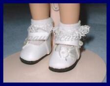 WHITE Side Bow Doll SHOES fit MINI AMERICAN GIRL Riley Pukifee U.S.SHIPS FREE
