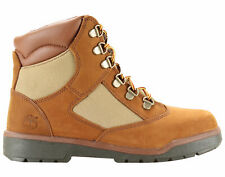 Timberland Newmarket Lace Up Side Zip Junior Brown Leather Boots A1CEE D20