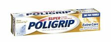 5 Pack - PoliGrip Super, Denture Adhesive Cream, Extra Care - 2.2 oz Each