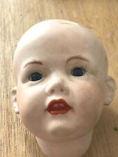 Bisque Dolls Head. German  KESTNER 237 MF approx. 31/2 Inches Tall.
