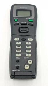 Sony RM-LJ301 Original Audio System Remote Control - TESTED