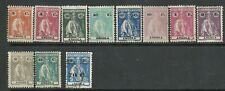 Angola 1921/1931 - Ceres x 11 stamps used and mint