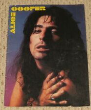 1977 Alice Cooper Concert Program Guilty Tour Book Lace and Whiskey
