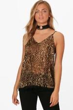 Camisas y tops de mujer de color principal marrón talla 40
