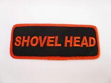 Shovelhead Harley Patch Aufnäher Aufbügler Badge Biker Chopper Hardtail Vintage