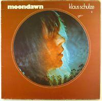 """12"""" LP - Klaus Schulze - Moondawn - E1844 - brain label - cleaned"""