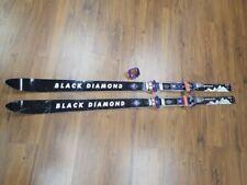 Black Diamond Boundary 185cc Snow Ski Silvretta Bindings Skis