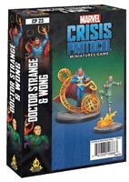 Doctor Strange and Wong Character Pack Marvel Crisis Protocol Asmodee NIB Dr