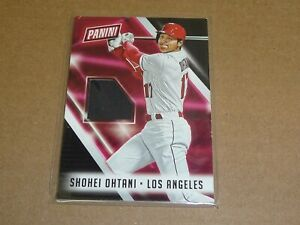 2018 Panini NATIONAL CONVENTION SHOHEI OHTANI JERSEY ANGELS R3088