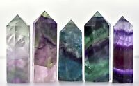 Rainbow Fluorite Gemstone Point Tower - A Grade - 8 Sizes Available