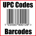 (10) UPC Codes Amazon Barcode Number GS1 Certified <br/> ALL New, UNUSED from USA, Quick Delivery