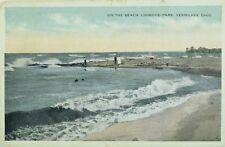 C.1905-10 On The Beach Linwood Park, Vermilion, Ohio Vintage Postcard P69