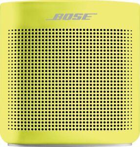 Bose - SoundLink Color Portable Bluetooth Speaker II - Citron
