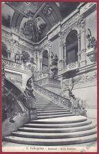 BERGAMO SAN PELLEGRINO TERME 94 INTERNO CASINO KURSAAL Cartolina viaggiata 1910