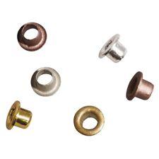 Eyelets Ösen rund 3 mm innen 5 mm außen 100 Stück metallic Rayher 60-027-999