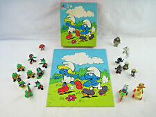 Astrosniks,Smurfs,Muppet Babies McDonalds Happy Meal Toys & TANG Lips & Puzzle