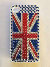 Jewelled Union Jack / Flag iPhone 4 Phone Case