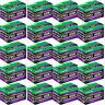 20 Rolls Fujifilm FujiColor PRO 400H 36 Exposure 35mm Color Negative Film