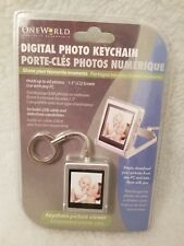 NEW AND SEALED One World Lifestyle Essentials Digital Photo Key Chain