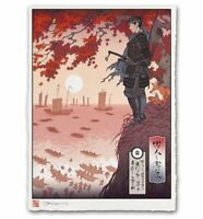 Ghost of Tsushima Collector's Edition PS4 Playstation 4 Poster Giclee Print Art