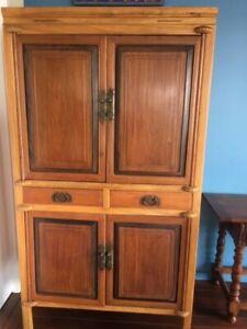 Timber Storage Cabinet - Original Rustic Entertainment Unit