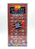 NEW Buffalo 3D Mystery Hotel Whodunit 504 PC Jigsaw Puzzle 00250 1993