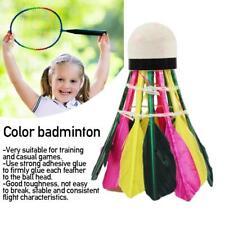 Durable Colorful Badminton Balls Shuttlecocks Kit Training Exercise