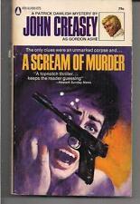 A SCREAM OF MURDER ~ POPULAR LIBRARY 1969 GORDEN ASHE (JOHN CREASEY)