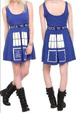 Doctor Who BBC Tardis Cosplay Dress Dr Size XL New With Tags!
