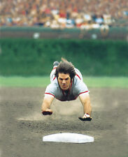PETE ROSE SLIDE 8X10 GLOSSY PHOTO PICTURE